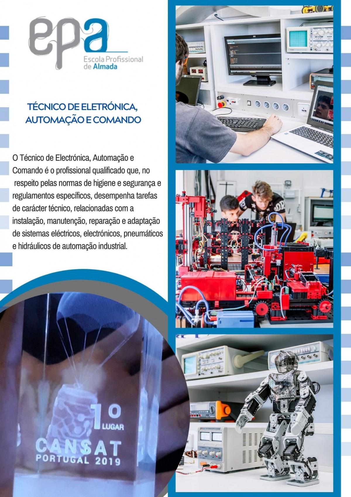 Técnico de Eletrónica, Automação e Comando
